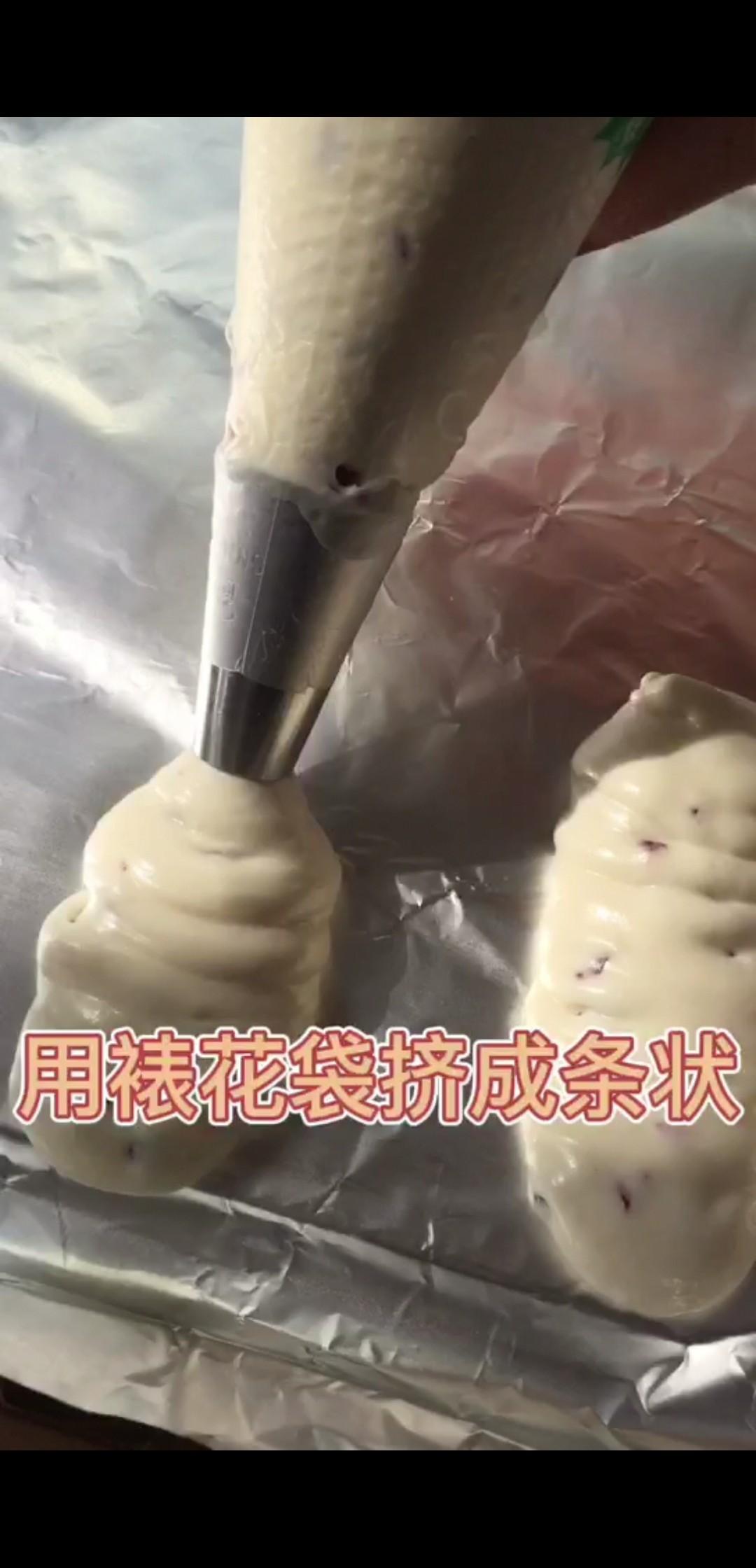 酸甜软糯巨好吃!糯米粉版蔓越莓手指麻薯怎么吃
