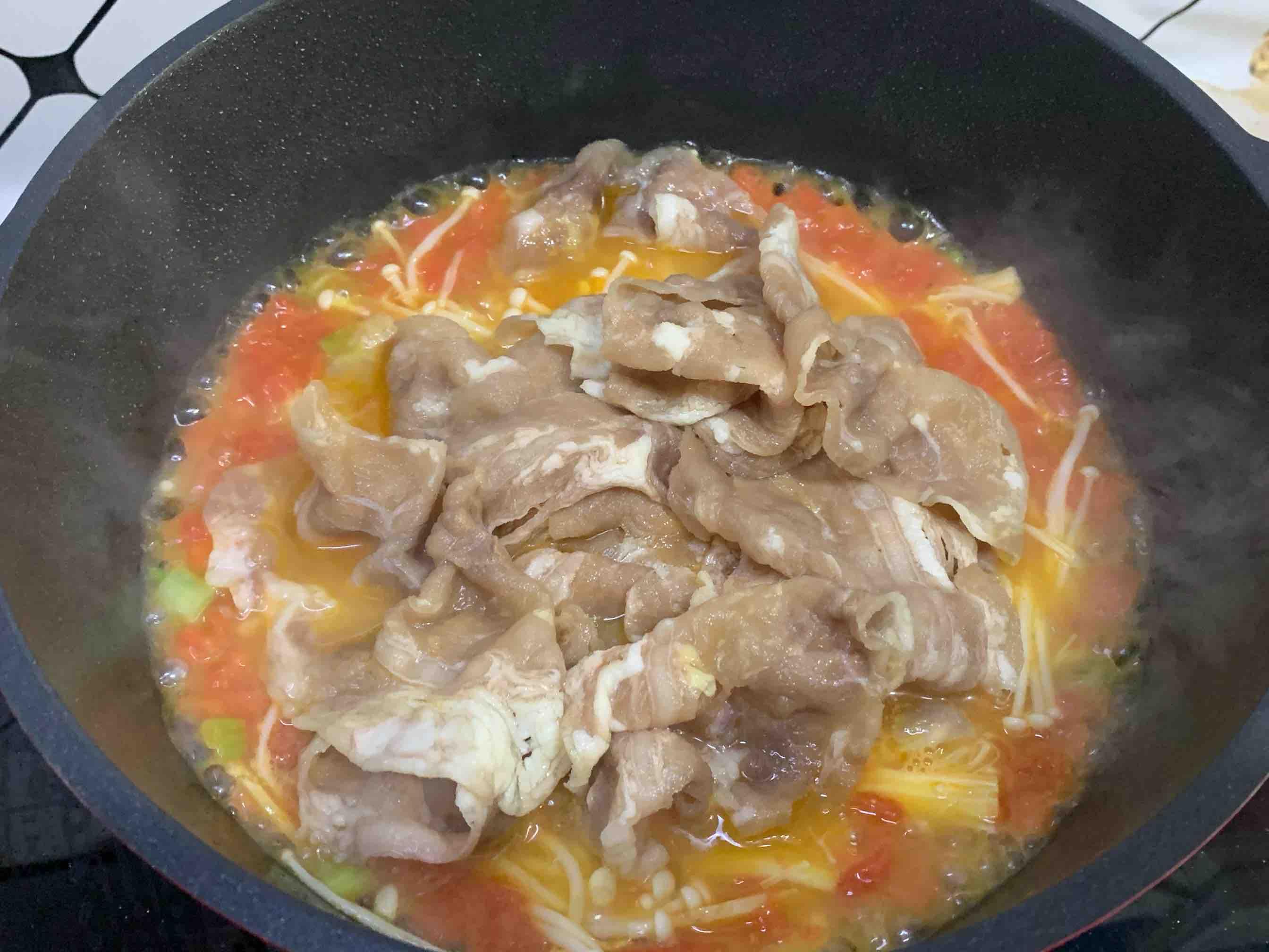 懒人版酸汤肥牛‼️暖胃下饭怎么吃