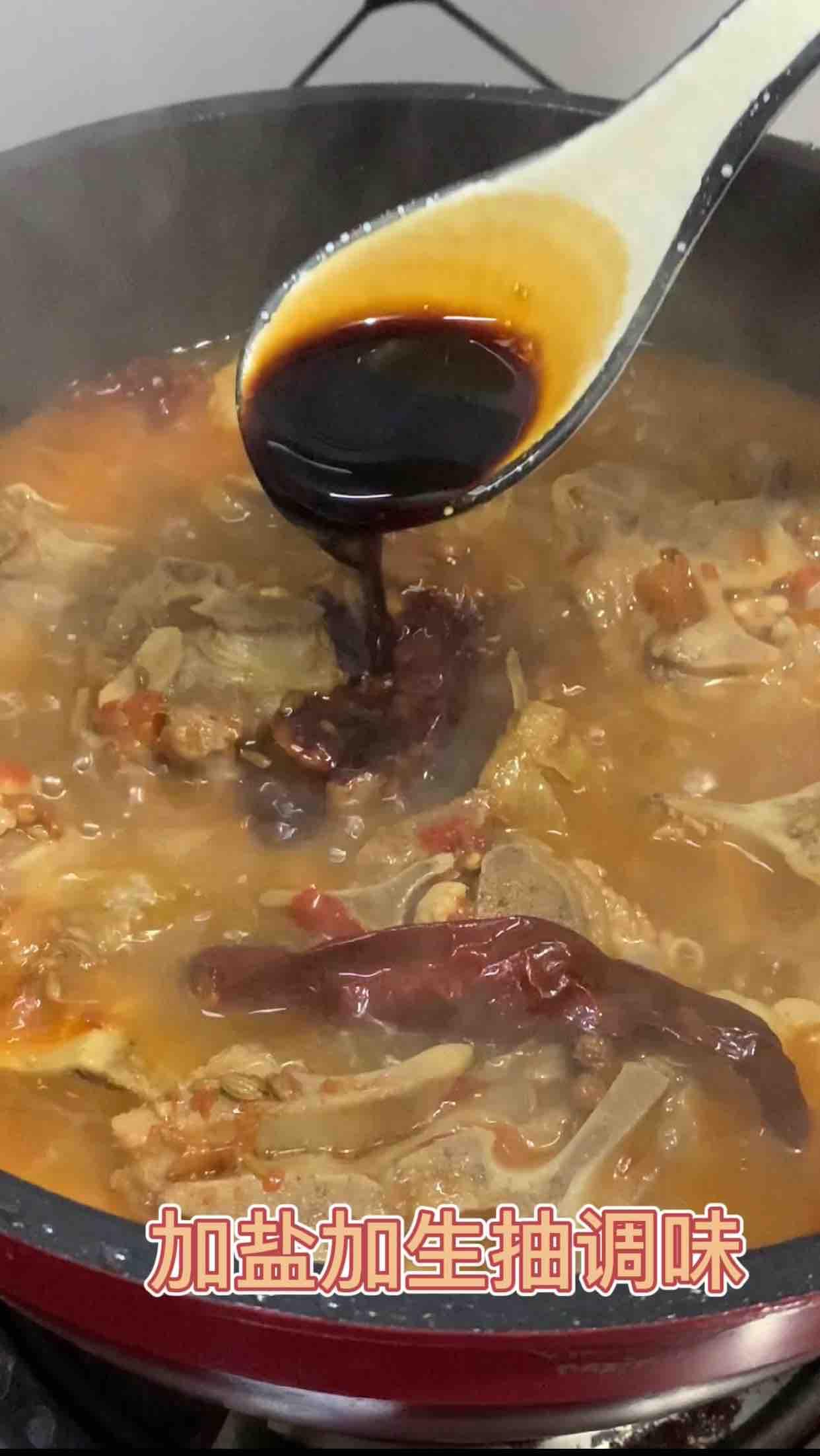香辣羊蝎子,简直太费米饭了的步骤