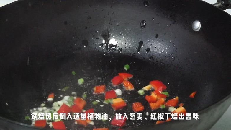 腌菜花炝毛豆米怎么吃