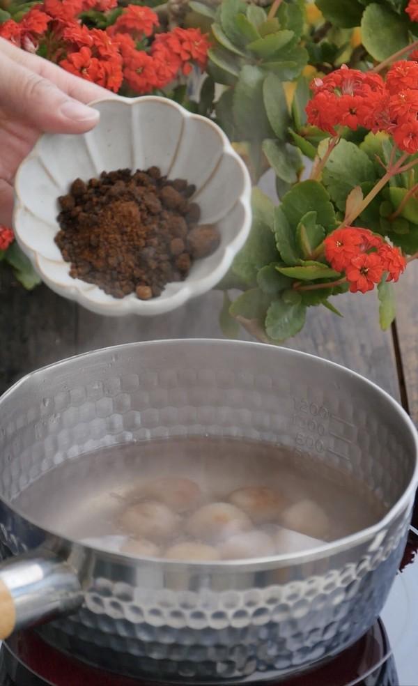 汤色酱红香甜润滑的桂花糖芋苗怎么做