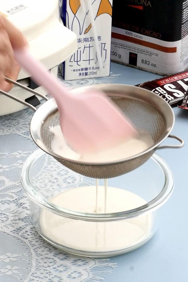 能拉丝会爆浆的巧克力麻薯华夫饼的家常做法