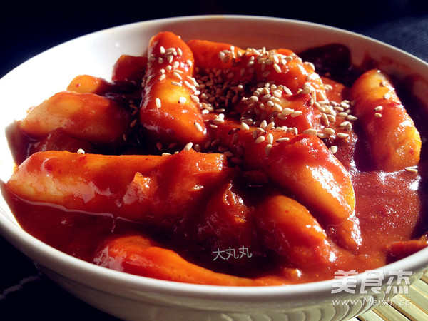 韩式辣炒年糕怎么做