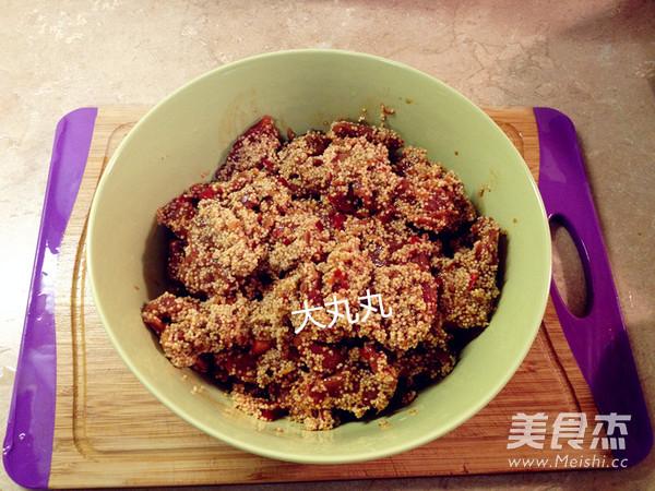 小米蒸牛肉怎么煮