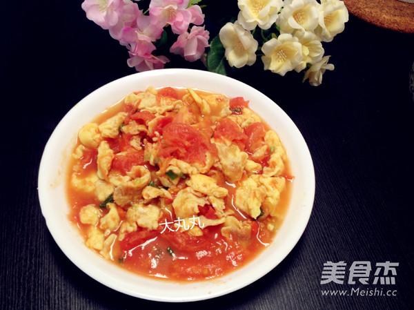 番茄炒蛋成品图