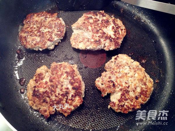 香煎豆腐牛肉饼怎么吃
