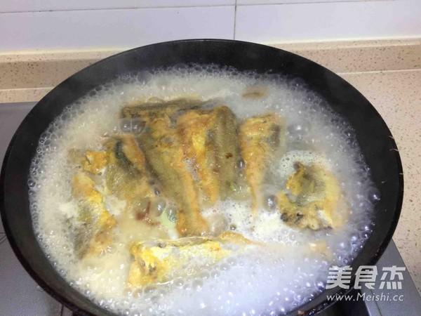 奶香黄花鱼怎么煮