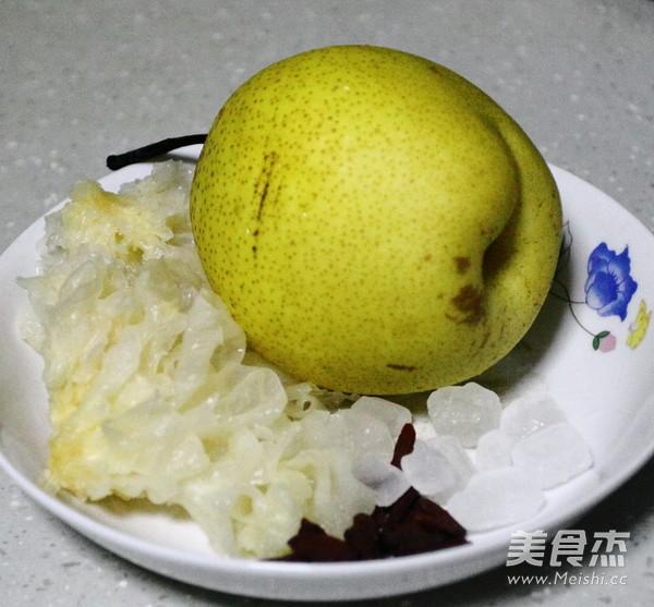 冰糖雪梨银耳汤的做法大全