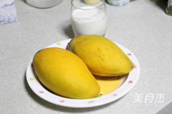 牛奶芒果汁的做法大全