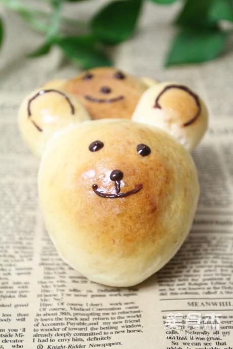 小熊豆沙包怎么煸