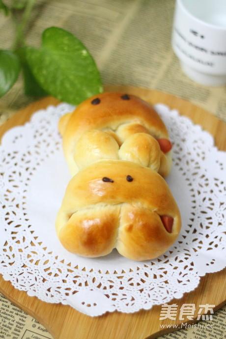 小兔子面包怎么煸