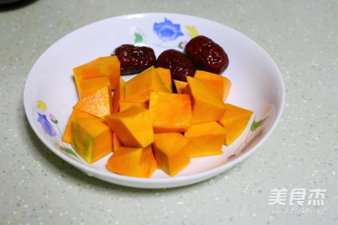 暖胃又养胃的大米小米南瓜粥的做法图解
