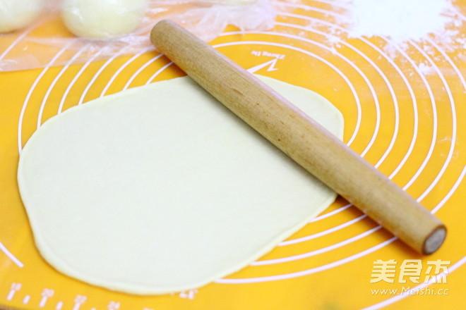圣诞花环面包的简单做法