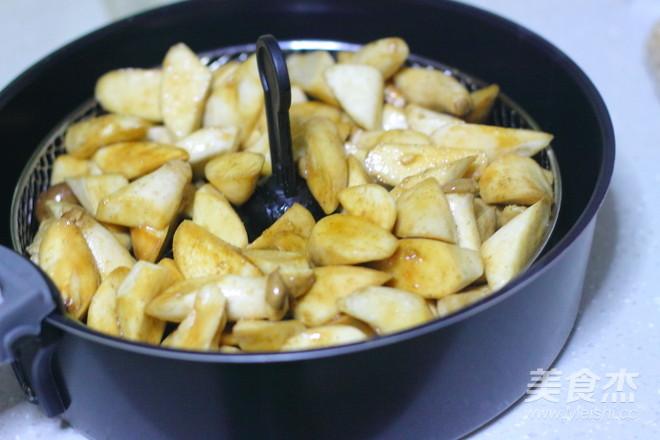 椒盐杏鲍菇的简单做法