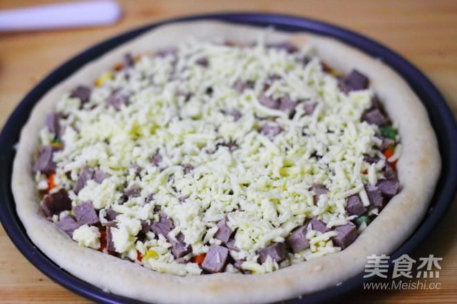 至尊牛肉披萨怎么煮