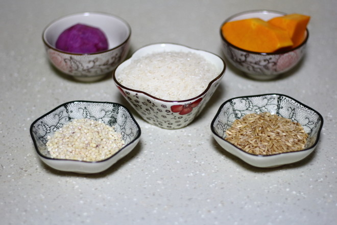 五谷杂粮米饭的做法大全