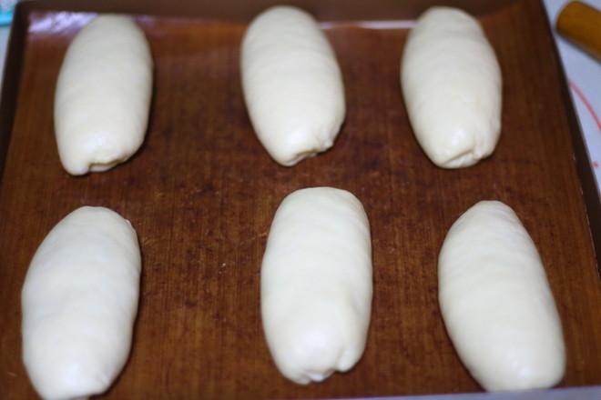 培根肉松面包的制作方法