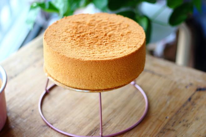 戚风蛋糕(8寸)的步骤