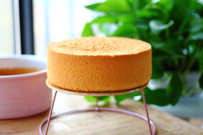戚风蛋糕(8寸)成品图