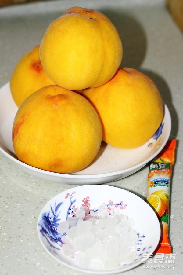 自制黄桃罐头的做法大全