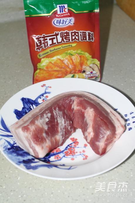 韩式烤肉的步骤