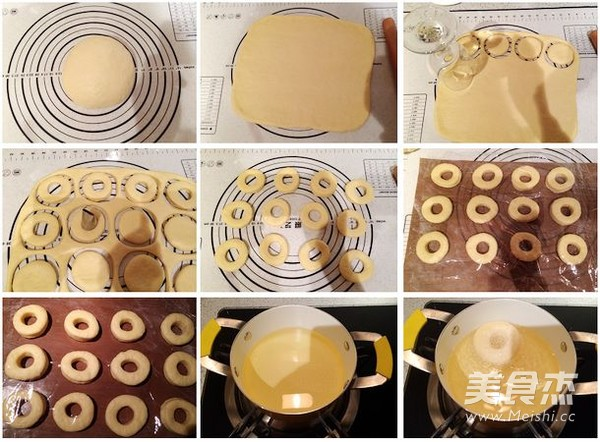 迷你甜甜圈的做法大全