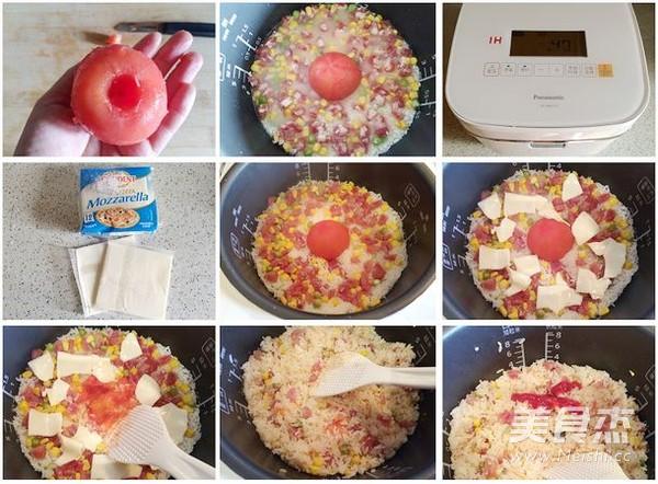 番茄饭的做法图解