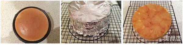 菠萝反转蛋糕的简单做法
