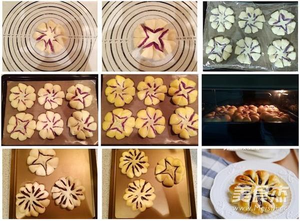 花型面包的做法图解