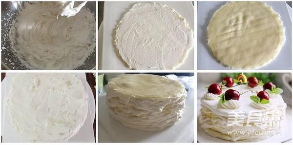 榴莲千层裸蛋糕的家常做法