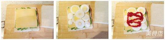 牛油果鸡蛋三明治的家常做法