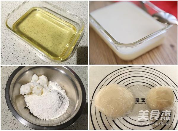 豆沙蛋黄酥的家常做法