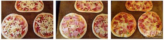 迷你小披萨的简单做法