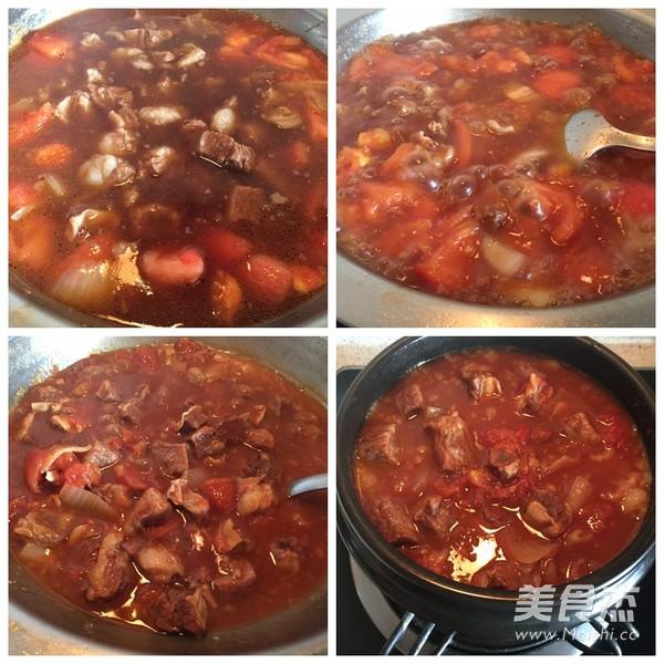 番茄牛腩的简单做法