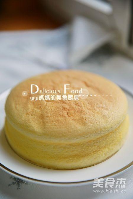 6寸轻乳酪蛋糕的简单做法
