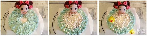 娃娃洗澡蛋糕怎么吃