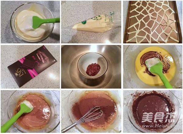 长颈鹿蛋糕卷的做法图解