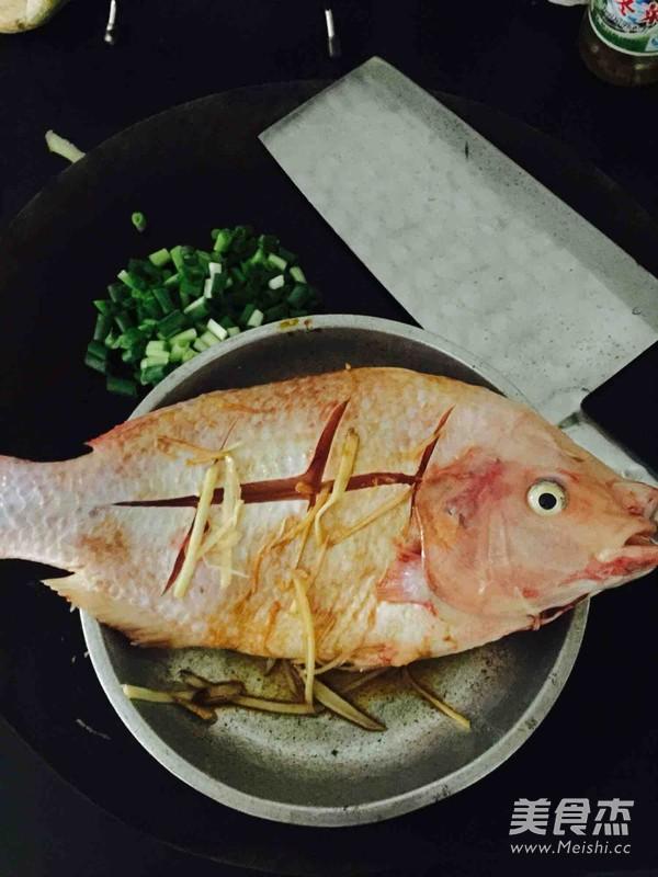 清蒸罗非鱼的做法图解