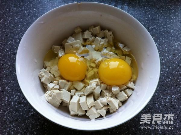 豆腐摊鸡蛋的做法图解