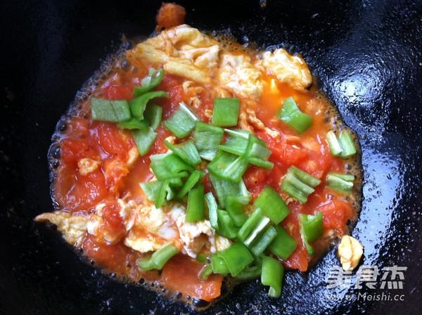 西红柿鸡蛋打卤面怎么炒