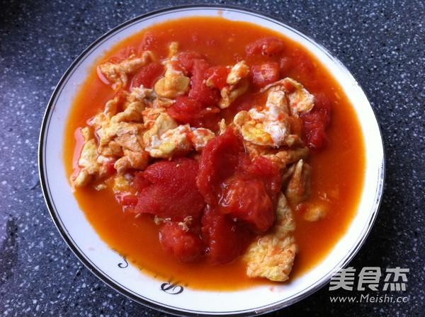 西红柿鸡蛋打卤面怎么煮
