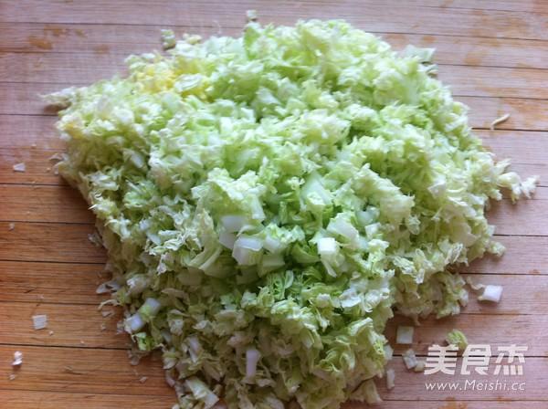 鸡蛋白菜炒米饭的做法图解
