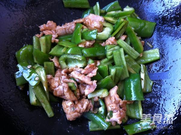 尖椒炒肉怎么吃
