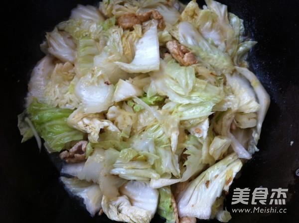 白菜豆腐炒肉怎么煮