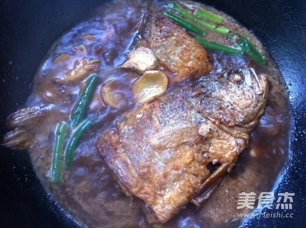 红烧大黄鱼怎么做