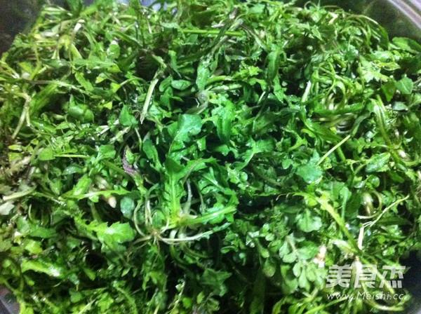 韭菜荠菜猪肉包子的家常做法