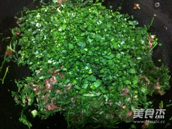 韭菜荠菜猪肉包子怎么炖