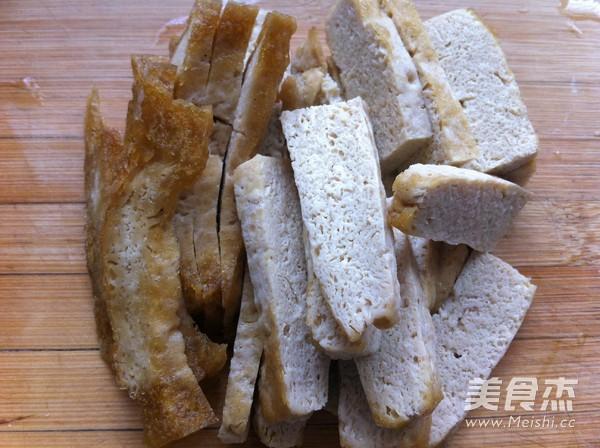 素炒西葫芦豆腐的家常做法