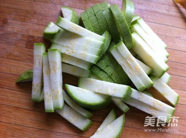 素炒西葫芦豆腐的做法图解