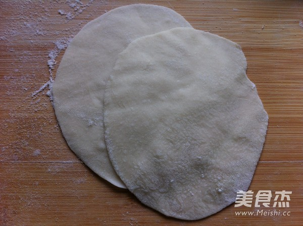 素三鲜蒸饺的步骤